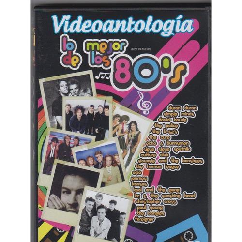 dvd lo mejor de los 80s