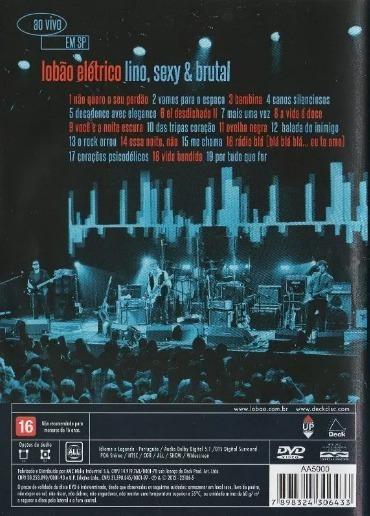 lobao eletrico dvd