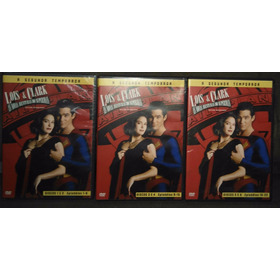 Dvd Lois & Clark - 2ª Temporada - 06 Discos Original Lacrado
