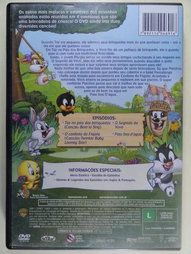 dvd - looney tunes baby - grandes amigos vol 1 - novo