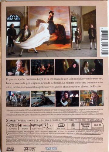 dvd - los fantasma de goya - milos forman - bardem - portman
