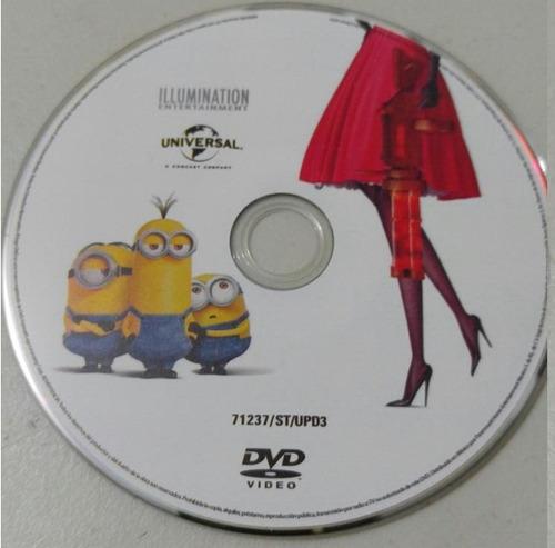 dvd los minions 2015 100% original, solo disco