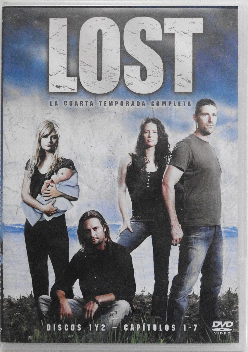 Dvd Lost Cuarta Temporada Disco 2 Capítulos 4-7 - $ 49.00 en Mercado ...