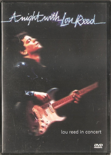 dvd lou reed - a night with in concert-ex velvet underground