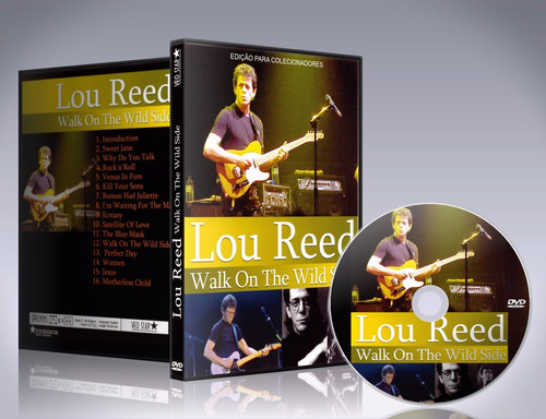 dvd lou reed - walk on the wildside