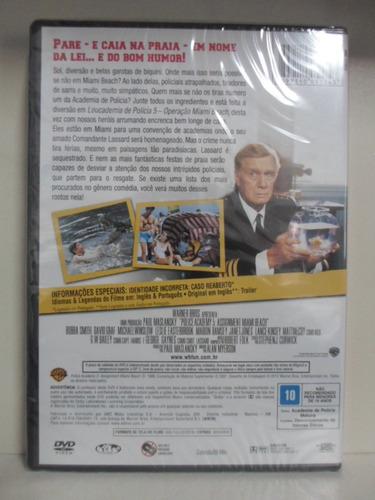 dvd loucademia de policia 5 - lacrado - original