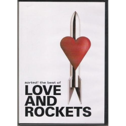 dvd love and rockets - sorted the best of - ed. 2004 lacrado