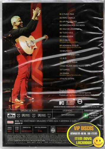 dvd lulu santos acústico mtv 2 - original novo lacrado!!!