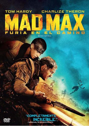 dvd mad max 4 furia en el camino nueva original cerrada