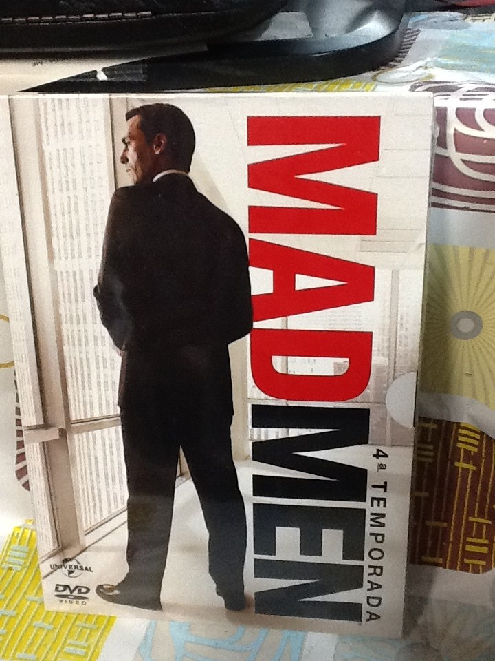 Dvd Mad Men 4ª Temporada 4 Discos