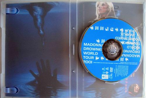 dvd - madonna - drowned world tour 2001