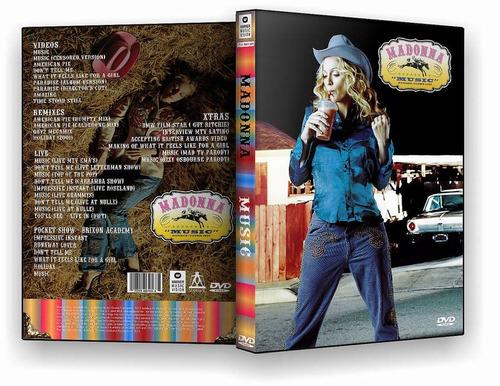 dvd madonna music dvd promo
