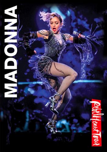 dvd madonna, rebel heart tour