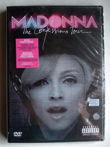 dvd - madonna - the confessions tour - nueva cerrada