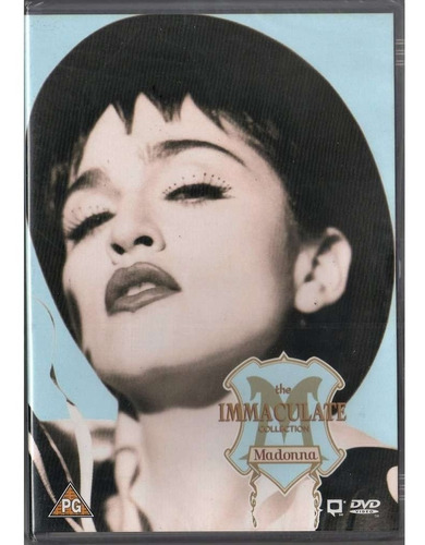 dvd madonna the imaculate  (original)  1ª edição em dvd