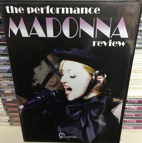 dvd madonna - the performance review.  nuevo cerrado
