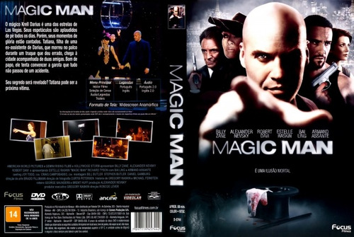 dvd magic man com billy zane