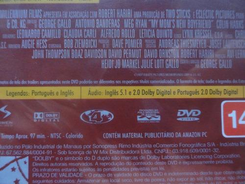 dvd - mais do que você imagina - antonio banderas - lacrado