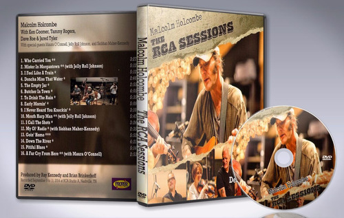 dvd malcolm holcombe - the rca sessions