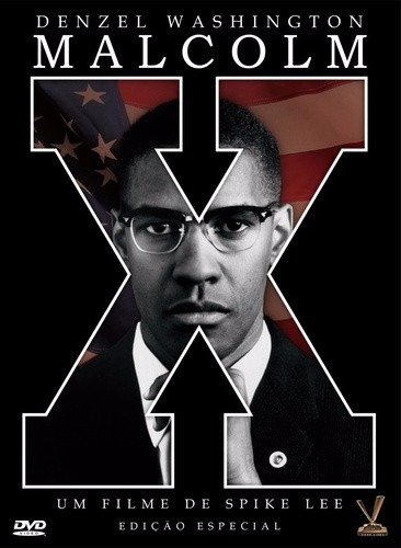 dvd malcolm x, de spike lee com denzel washington,  1992 +