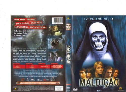 dvd maldição - suspense - original