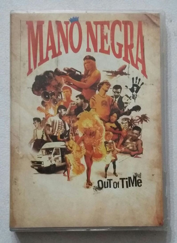 dvd mano negra out of time