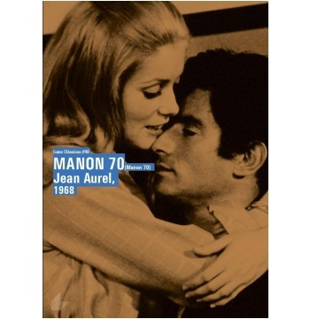 dvd manon 70, jean aurel, com  catherine deneuve  1967 +