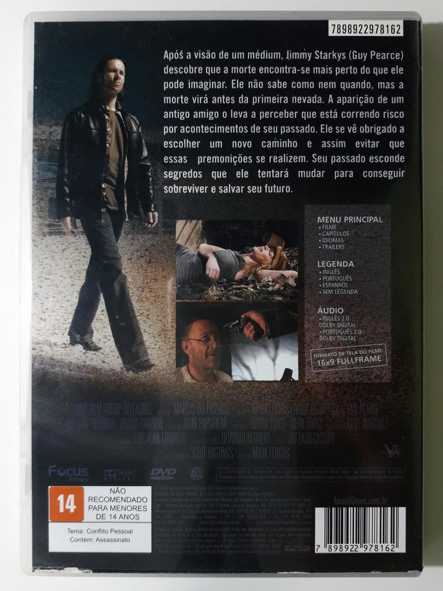 dvd marcas do passado original first snow guy pearce. Carregando zoom. c8c5a2c112d