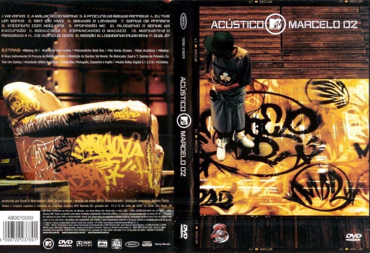 dvd marcelo d2 acustico mtv gratis