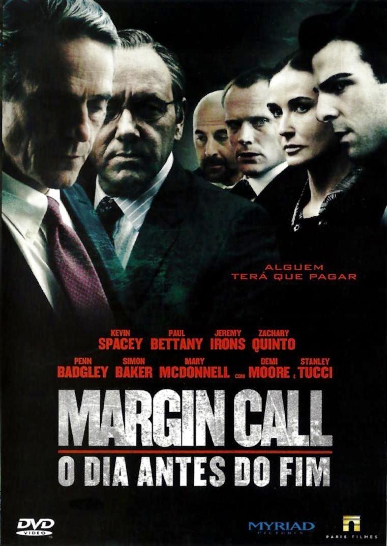 Dvd Margin Call - O Dia Antes Do Fim (2011) M - R  24 f5ad0776a6a