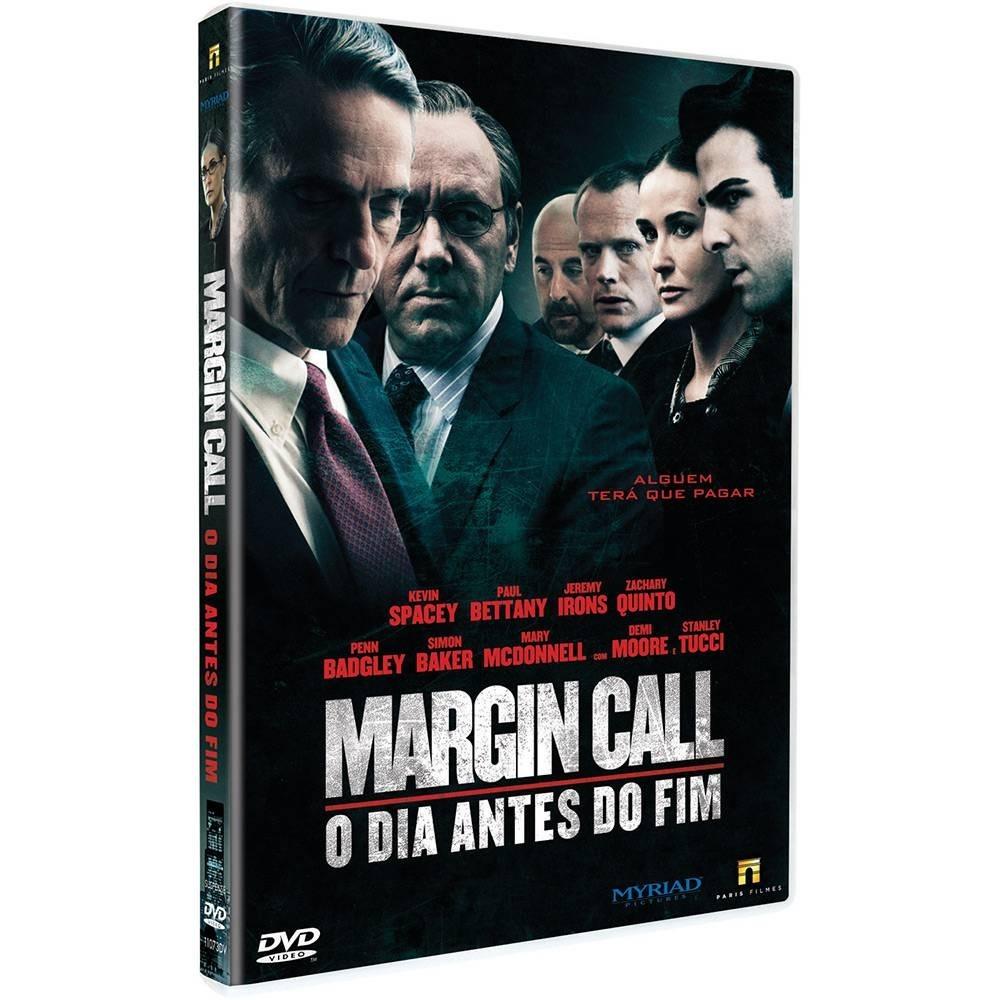 Dvd Margin Call  O Dia Antes Do Fim Lacrado! - R  39 8fab867d77a