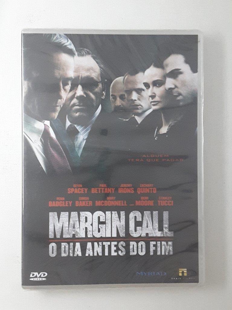 Dvd Margin Call O Dia Antes Do Fim Original Lacrado - R  51 540131d6923