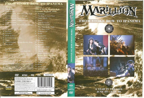 dvd marillion from stoke row to ipanema 2 dvds