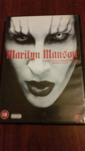 dvd marilyn manson impecable !!!