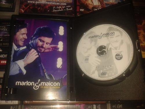 dvd marlon e maicon - frete gratis