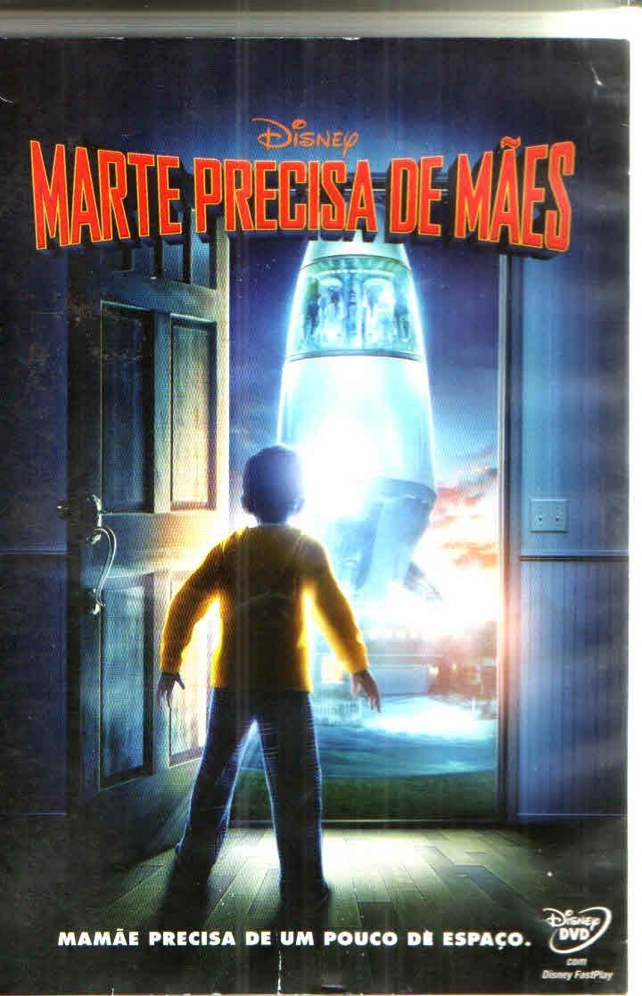 Dvd - Marte Precisa De Mães - Original - R$ 24,40 em Mercado Livre