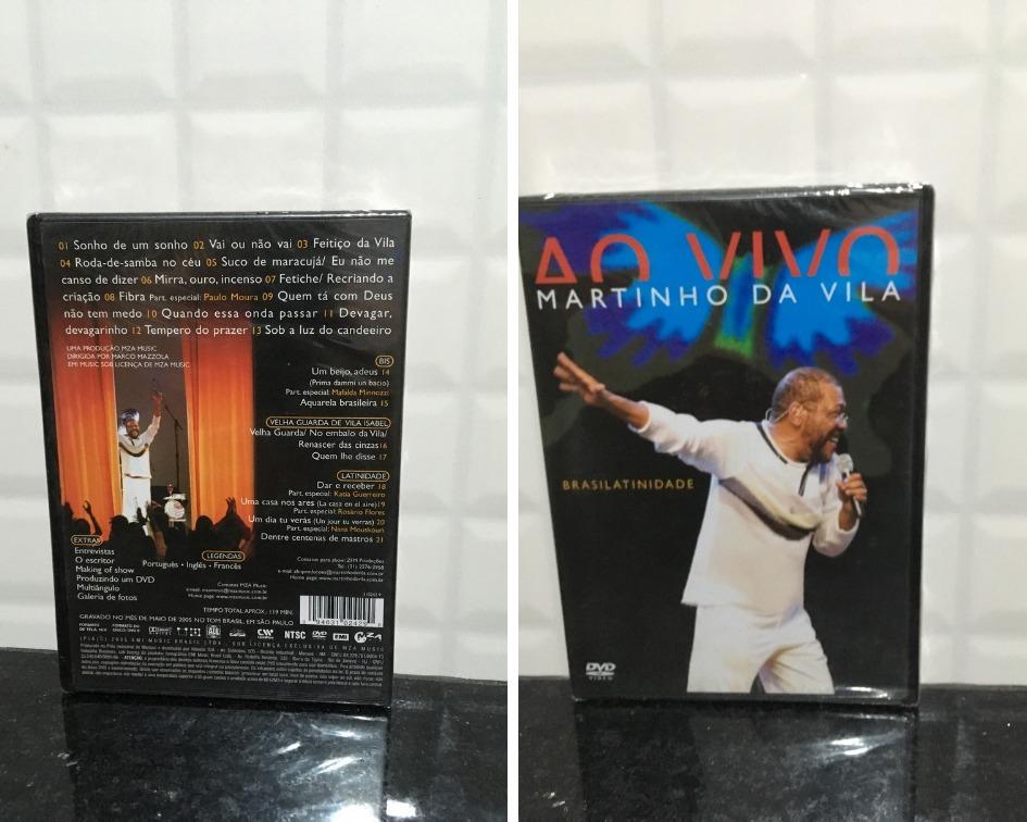 dvd martinho da vila brasilatinidade