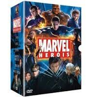 dvd marvel herois (6 dvds)