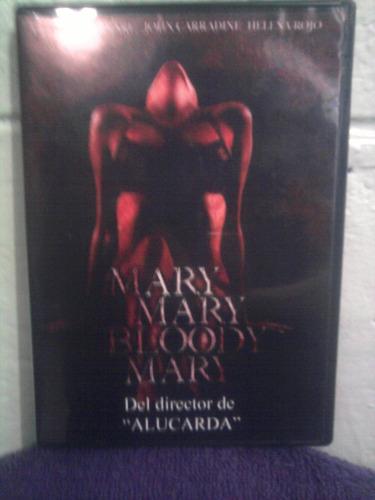 dvd mary mary bloody mary terror juan lópez moctezuma
