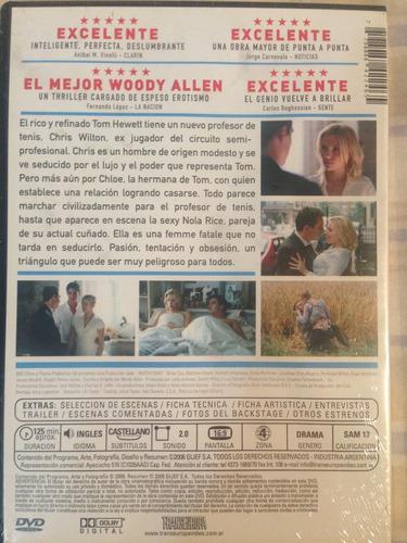 dvd match point / de woody allen