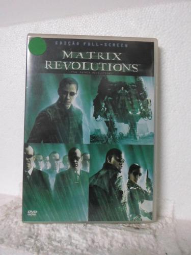 dvd matrix revolutions - original