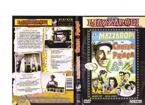 dvd mazzaropi - chofer de praça (1958) - original