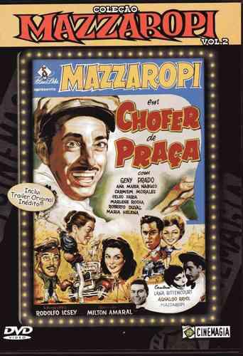 dvd mazzaropi -chofer de praça