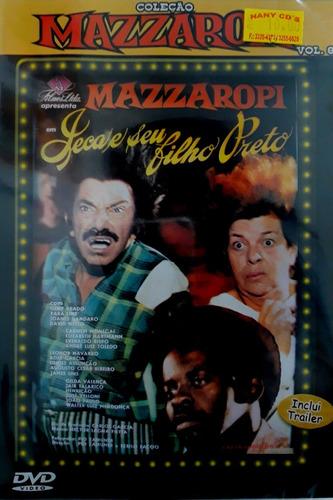 dvd mazzaropi  jeca e seu filho preto