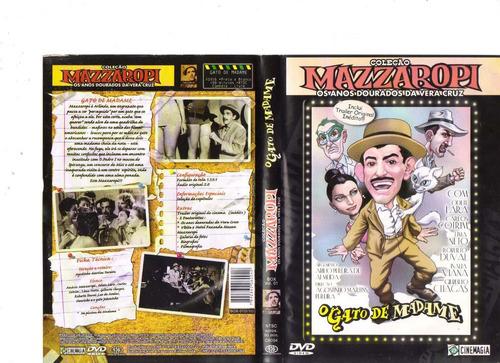 dvd mazzaropi - o gato de madame (1956)- original