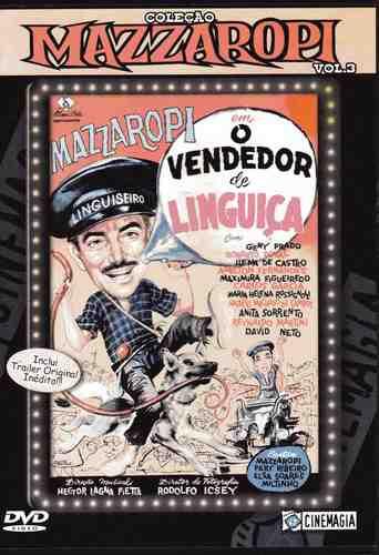 dvd mazzaropi - o vendedor de linguiça