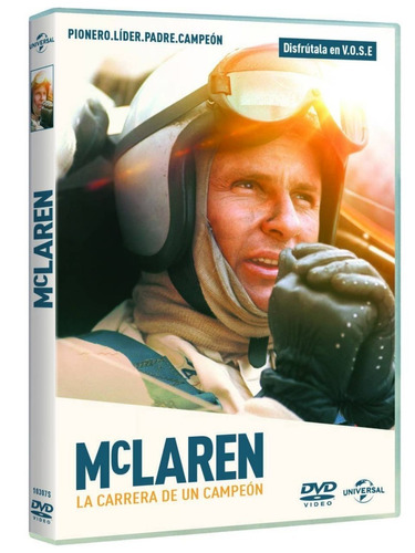 dvd mc laren / mclaren la carrera de un campeon (2017)