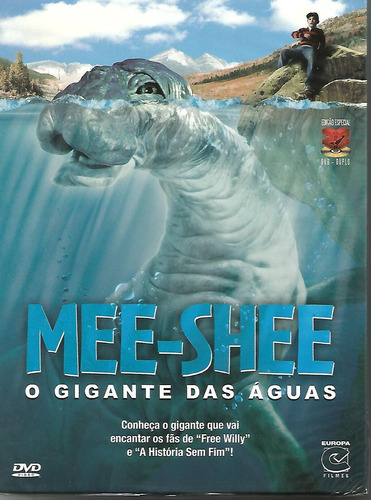 dvd mee shee - o gigante das águas - duplo - lacrado