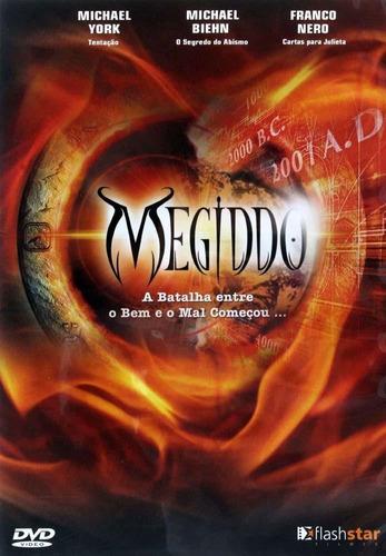 dvd - megiddo - michael york / franco nero - lacrado