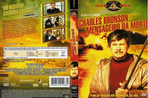 dvd - mensageiro da morte - charles bronson